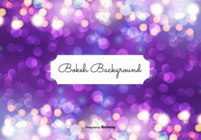 Abstract Bokeh Background Illustration