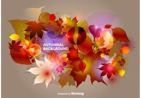 Autumnal Abstract Background