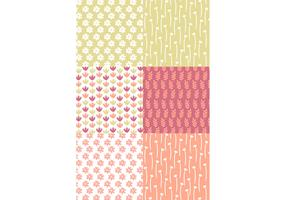 Pastel Floral Patterns