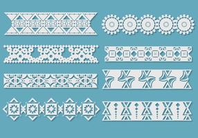 Crochet Lace Vectors