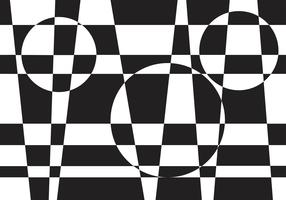 Illusions Checkerboard Vector