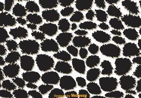 Giraffen-Druck Schwarzweiss-Muster