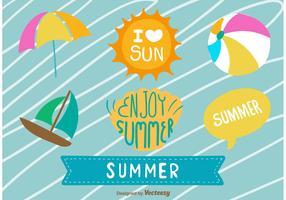Cute Summer Elements