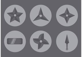Icono de la estrella de Ninja