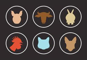 Vector Collection of Animal Silhouettes