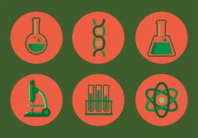 Laboratory Vector Icon Set
