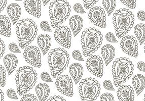 Vector Paisley Background