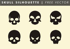 Skull Silhouette Free Vector