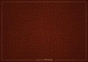 Free Brown Leather Vector Background