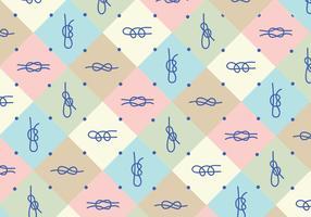 Knots Pattern Background
