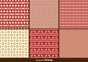 Christmas Retro Patterns