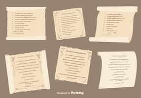 Ten Commandments Set