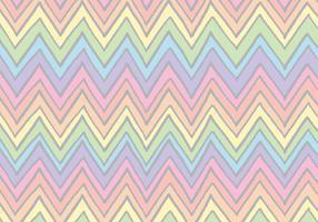 Free Rainbow Chevron Pattern Vector