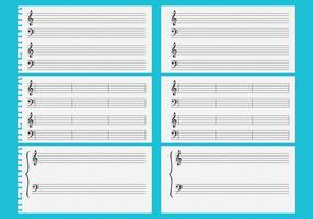 Vector Music Sheets