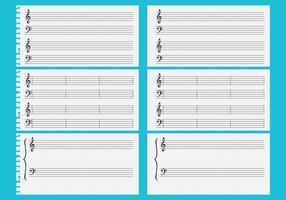 Vector Music Sheets