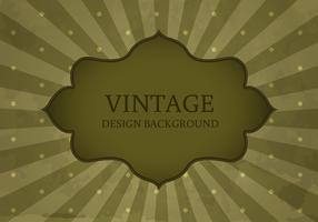 Old Vintage Style Label Background Vector