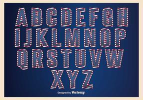 Patriotic Alphabet Set
