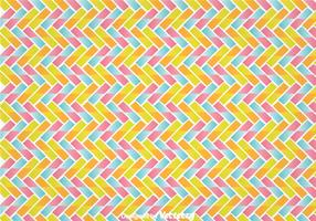 Colorful Zig Zag Wall Tapestry