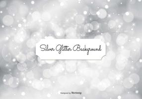Silver Glitter Background Illustration