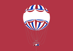 Bournemouth Air Balloon Vector