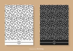 Free Swirly Seamless Vector Patterns