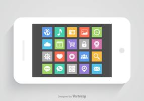 Free Mobile App Vector Icons
