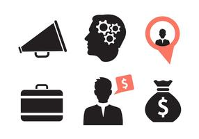 Set of Various Business Icons