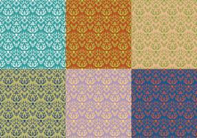 Damask Vintage Floral Pattern