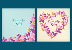 Vector Butterfly Templates
