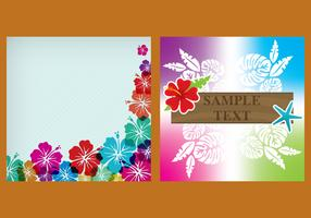 Vector Hawaiian Templates