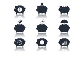 Bank Icon Vectors