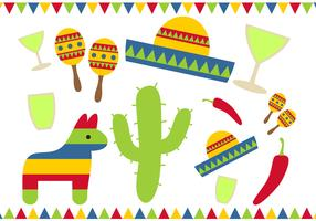 Gratis Cinco De Mayo Vector