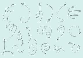 Linear Arrow Vectors