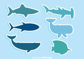 Sea Wildlife Icons
