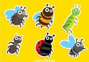 Cartoon Insect Vectors