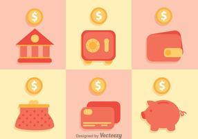 Bank Saving Icons