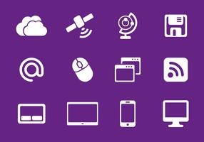 Free Internet Icons Vector