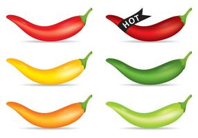 Hot Pepper Vectors