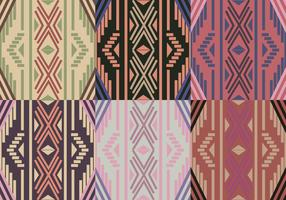 Boho Pattern Geometric Background