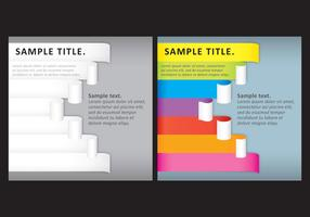 Scrolled Papers Templates