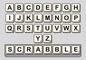 Scrabble Vector Set