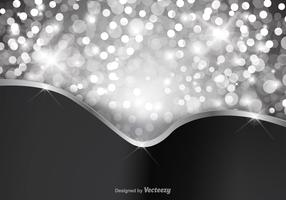 Free Silver Glitter Background Vector