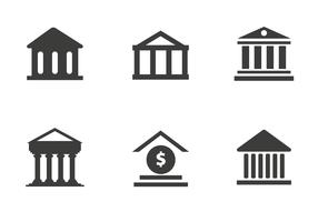 Free Bank Icon Vector