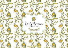 Free Girly Pattern Vector