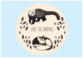 Animals Background Illustration