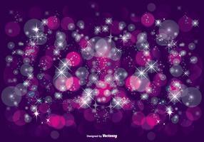 Beautiful Purple Glitter Illustration