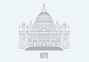 Free St Peters Vector