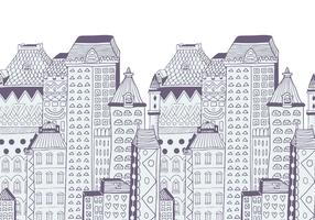 Buildings Vector Background