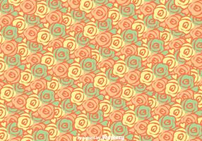Roses Colorful Background