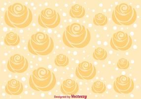 Cream Roses Background